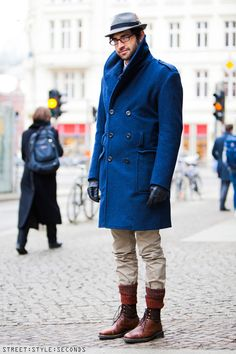 Men in coats, winter fashion, Berlin Fashion Week - Bob Trotta is a high end, men's fashion consultant that has exclusive clients all around the world. Learn more about what he can do for you today! http://bobtrottafashion.com/
