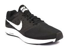 reputable site c27dc ccdf8 NIKE 852459 002 DOWNSHIFTER 7 NERO BIANCO Sneakers Running Uomo Mesh Nylon