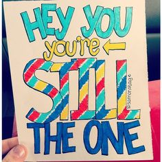 Still The One Lyric Drawing ($5) ❤ liked on Polyvore