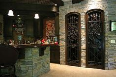 Wine Celler and bar