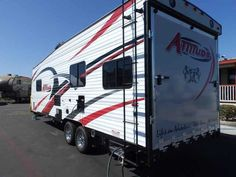2016 New Eclipse Recreational Vehicles ATTITUDE 23SA, ELECTRIC BED,CAPTAIN CHAIRS,POWER AWNING Toy Hauler in California CA.Recreational Vehicle, rv, WE DO NOT CHARGE FOR PDI OR PREP FEE LIKE MOST OTHER DEALERS! NEW 2016 ECLIPSE ATTITUDE 23SA PULL TOY HAULER, 26 FT BOX LENGHT, DRY WEIGHT ONLY 6360 LBS, HALF TON TOWABLE! FRONT WALK AROUND QUEEN BED WITH PRIVATE DOOR, SINGLE ENTRY DOOR TO THE BATHROOM, PRIVATE BATHROOM WITH LARGE GLASS SHOWER, UPGRADED SKYLIGHT OVER THE SHOWER, LAVY SINK WITH…