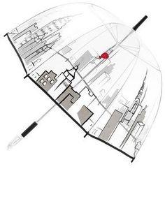 ShopStyle.com: Felix rey Cityscape Bubble Umbrella $65.00