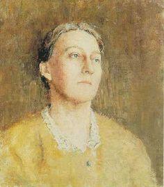 Emil Carlsen Portrait of the Artist's Wife, c.1918