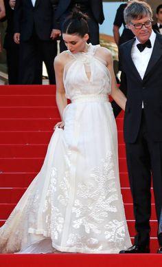 Cannes - Rooney Mara con un vestido de la colección otoño-invierno 2015 de Rochas