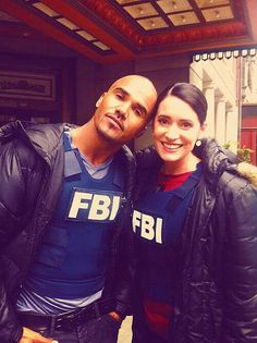 Shemar and Paget. <3