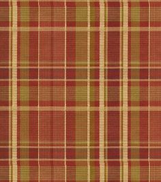 Upholstery Fabric- Covington Burgess Plaid     # 11243052     reg. 64.99SALE 25.99    60% off 54'' Home Decor Fabrics    --------------------------------------------------------------------------------    54'' Wide. 52 Poly/48 Cotton. Vacuum, Spot clean with water free agent, Professional cleaning recommended. Made in India.