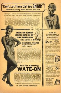 """""""Don't Let Them Call You SKINNY!""""  - Perhaps my hips were simply born in the wrong decade..."""