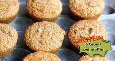 Pumpkin Cinnamon Protein Muffins Recipe