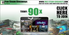Free Steam Games Bundle 90 Keys http://www.free-steam-giveaways.com/free-steam-games-bundle-90-keys/