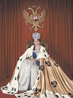 марина александрова в роли екатерины великой -Actress Marina Aleksandrova as Catherine the Great