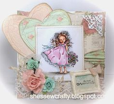 Mo's Dream Team: Alisa with Roses Penny Black Cards, Mo Manning, Love Craft, Live Love, Dream Team, Digital Stamps, Cardmaking, Decorative Boxes, Challenges