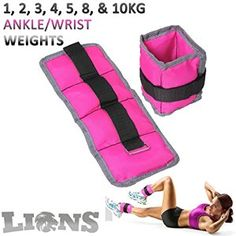 Ankle weights for a toned booty