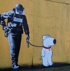Street art in Rotterdam in the Netherlands