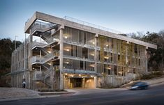 T3 Parking Structure (Danze Blood Architects, Austin, 2012) ©  Whit Preston