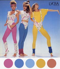 Don't say 80s without Lycra