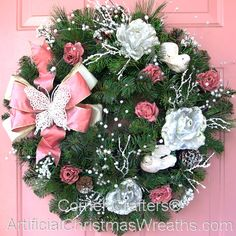 Victorian Christmas Wreath - 2012 - #ArtificialChristmasWreaths #ChristmasWreaths #Wreaths #Wreath