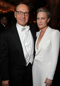 Kevin Spacey — Kevin Spacey and Robin Wright