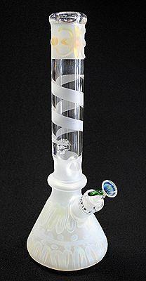 Glasses gay enjoy blowing tube