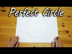 WATCH: He Can Draw A Perfectly Round Circle With His Hands. How He Does It Is So Simple, Yet Genius. [MOBILE VIDEO]
