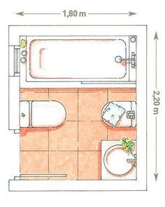 un baño de 4 m2 #fachadasminimalistasdepartamentos