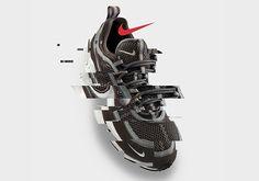 NIKE (Nike) AIR MAX 95 ESSENTIAL (Air Max 95 essential) sneakers WHITEBLACK SOLAR RED (white black blue red) 749766 106 ENDLESS TRIP