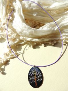 Spring tree pendant, Magic tree necklace - pinned by pin4etsy.com