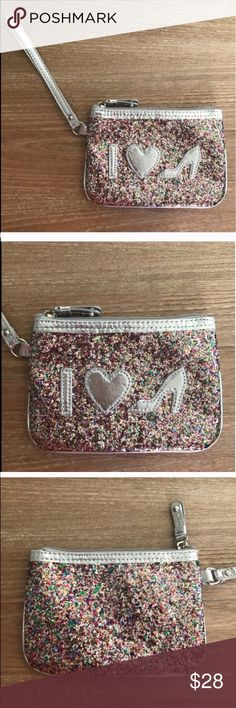 NORDSTROM I LOVE SHOES WRISTLET NWOT Condition: NWOT, No flaws, no rips, holes or stains. Size: 6.5x4.5. Fits an Iphone 6 inside. Smoke free home/Pet hair free No trades, No returns No modeling  Shipping next day. Beautiful package! I LOVE OFFERS, offer me! ALL ITEMS ARE OWNED BY ME. NOT FROM THRIFT STORES All transactions video recorded to ensure quality.  Ask all questions before buying Nordstrom Bags Clutches & Wristlets