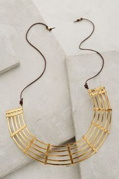 Winifred Grace Woven Collar Necklace