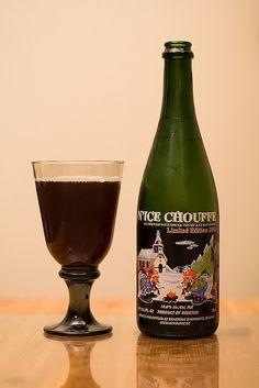 N'Ice Chouffe  |  Belgian Strong Dark Ale  |  10% ABV  |  Belgium