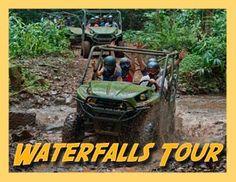 Kauai ATV Activity - Waterfalls Picnic Tour (4 hours)