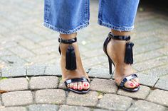 DIY SHOES Stuart Weitzman, Personal Style, Photo And Video, Sandals, Heels, Diy, Fashion, Heel, Moda
