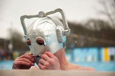 Cybermen Swim Cap. They should have these at the london olympics!