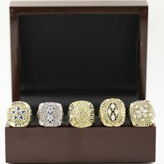 Great addition to any fan collection. These are high quality silver & gold plated replica championship rings. Perfect fit to be in one of your collection it