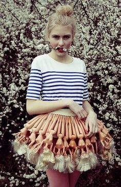 Barbie skirt.