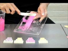 Using chocolate and fondant in candy and silicone molds, Tip and Tricks by Susan Carberry - YouTube