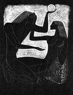 Witch Art, Art For Art Sake, Russian Art, Linocut Prints, Tribal Art, Erotic Art, Modern Art, Illustration Art, Creations