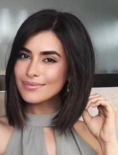 Divine Beauty of Bob Hairstyles 2019 That Will Ama. Divine Beauty of Bob Hairstyles 2019 That Will Amaze Everyone Long Bob Haircuts, Medium Bob Hairstyles, Trendy Hairstyles, Haircut Bob, Pixie Haircuts, Wedding Hairstyles, Bob Hairstyles For Thick Hair, Bobbed Haircuts, Thick Hair Bob Haircut