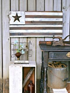 DIY Rustic Farmhouse