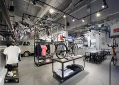 Rapha Cycle Club by Brinkworth    Luxury cycling apparel brand Rapha appoint design consultancy Brinkworth to create their unique retail concept - Rapha Cycle Club.