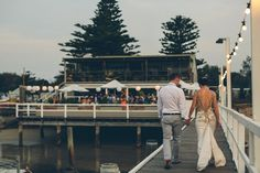 Maddy + Dan - Real Wedding at The Boathouse Palm Beach. Photography by Milton Gan.
