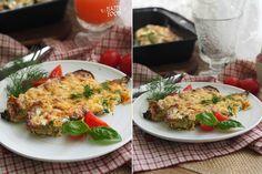 Запеченные кабачки со сметаной и сыром - HAPPYFOOD