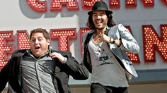 Russel Brand and Jonah Hill from Get Him to the Greek sooo funny