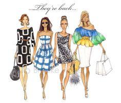 my fashion illustration fix