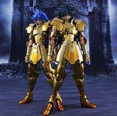 Metal Club (non-Bandai) Saint Seiya Myth Cloth EX Gemini Saga Action Figure!