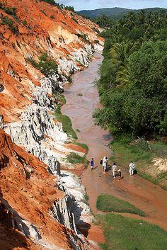 Mui Ne, Fairy Spring, Vietnam. Part of travelling SE Asia 2013