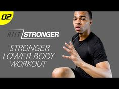 30 Min. STRONGER: Lower Body Domination | HIIT/STRONGER: Day 02 - YouTube