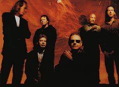 King Crimson ~ Adrian Belew, Bill Bruford, Pat Mastelotto, Robert Fripp, Tony Levin and Trey Gunn ~ 1995
