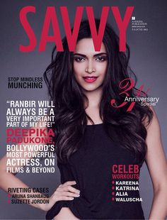 Slaying the world with her beauty in June 2015 issue of Savvy Magazine