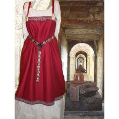 Norse Viking SCA Garb Medieval Costume Authentic Nordic Design & Linen Cotton Fabrics and other apparel, accessories and trends. Browse and shop related looks.