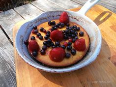 Lady's Baking Lair- Traditional Finnish Baking Recipes - Finnish Skillet Oven Pancake - Pannukakku